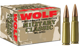 Wolf 76254FMJ174 Performance 7.62x54mm Russian FMJ 174 GR - 500rd Case