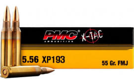 PMC 556XBP Battle Pack Bulk Rifle Ammo 5.56 NATO FMJ Boat Tail 55 GR - 200rd Battle Pack