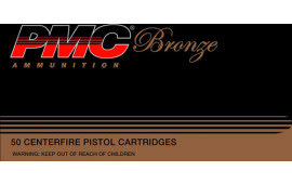 PMC 10A Bronze 10mm Truncated Cone Full Metal Jacket 200  GR - 50rd Box