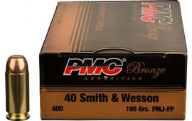 PMC 40DBP Battle Pack 40 Smith & Wesson 165  GR Full Metal Jacket - 300rd Battle Pack