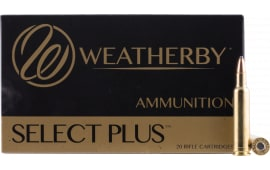 Weatherby H22455SP 224 Weatherby Magnum Spire Point 55 GR - 20rd Box