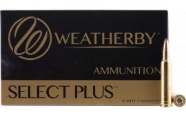 Weatherby H300165BT 300 Weatherby Magazine Spire Point 165  GR - 20rd Box