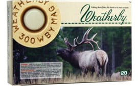 Weatherby H300180SP 300 Weatherby Magazine Spire Point 180  GR - 20rd Box