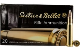 Sellier & Bellot SB308F Rifle Hunting 308 Win/7.62 NATO 180  GR Spce (Soft Point Cut-Through Edge) - 20rd Box