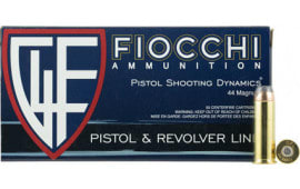 Fiocchi 44D500 Shooting Dynamics 44 Remington Magnum 240  GR Jacketed Hollow Point - 50rd Box