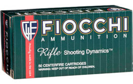 Fiocchi 223C Shooting Dynamics .223/5.56 NATO 62  GR FMJ Boat Tail - 50rd Box