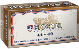 Fiocchi 4440CA Cowboy 44-40 Winchester 210  GR Lead Round Nose Flat Point - 50rd Box