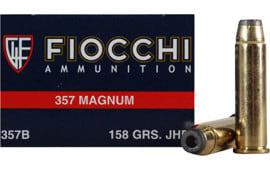 Fiocchi 357GCMJ Shooting Dynamics 357 Magnum 158  GR Copper Metal Jacket Flat Point - 50rd Box