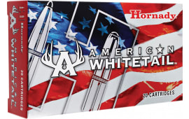 Hornady 82044 American Whitetial 300 Winchester Magnum 180 GR InterLock SP - 20rd Box
