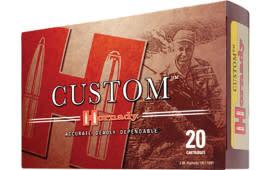 Hornady 82220 Custom 300 Weatherby Magnum 165 GR GMX - 20rd Box
