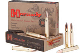 Hornady 82303 Dangerous Game 9.3x62 Mauser 286 GR InterLock SP/RP - 20rd Box