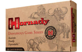 Hornady 82674 Dangerous Game 416 Remington Magnum Dangerous Game Solid 400 GR - 20rd Box