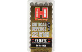 Hornady 83200 Critical Defense Flex Tip Expanding 22Win Mag 45 GR - 50rd Box