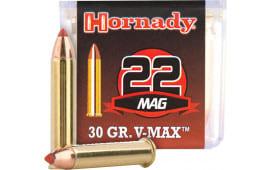 Hornady 83202 Varmint Express 22 WMR 30 GR V-Max - 50rd Box