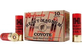 "Hornady 86224 Heavy Magnum Coyote 12GA 3"" 1-1/2oz 00 Buck Shot - 10sh Box"