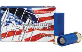 "Hornady 86231 American Gunner 12GA 2.75"" 1oz Slug Shot - 5sh Box"