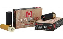 """Hornady 86233 Custom Lite 20GA 2.75"""" 250 GR Slug Shot - 5sh Box"""