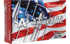 Hornady 86271 American Whitetail Interlock 12GA 325 GR Slug - 5sh Box