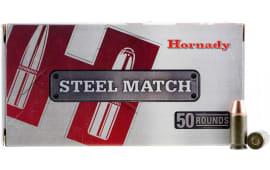 Hornady 90275 Steel Match 9mm Luger 125 GR - 50rd Box