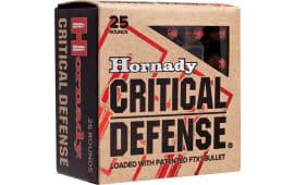 Hornady 90311 Critical Defense 38 Special +P 110 GR Flex Tip Expanding - 25rd Box