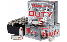 Hornady 90926 Critical Duty 45 ACP +P 220 GR FlexLock - 20rd Box