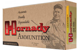 Hornady 91318 Custom 358 Winchester 200 GR Soft Point - 20rd Box