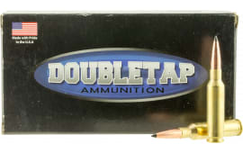 DoubleTap Ammunition 65CM130SS Desert Tech Longrange 6.5 Creedmoor 130 GR Swift A-Frame - 20rd Box