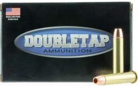 DoubleTap Ammunition 4570300X Desert Tech Hunter 45-70 Government 300 GR Barnes TSX Flat Nose - 20rd Box