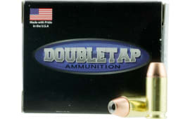 DoubleTap Ammunition 45A185CE DT Defense 45 ACP 185 GR Jacketed Hollow Point - 20rd Box