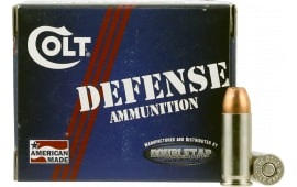Colt Ammo 38SU124CT Defense 38 Super 124 GR Jacketed Hollow Point - 20rd Box