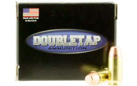 DoubleTap Ammunition 45A230FP DT Hunter 45 ACP 230 GR Full Metal Jacket Flat Point - 20rd Box