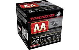 "Winchester Ammo AASC417 AA Target Loads 410GA 2.5"" 1/2oz #7.5 Shot - 250sh Case"