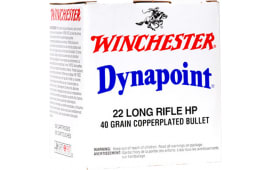 Winchester Ammo WD22LRB Best Value 22 Long Rifle (LR) 40 GR Dynapoint - 5000rd Case
