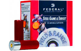 "Federal FRS127 Field & Range Steel 12GA 2.75"" 1oz #7 Shot - 250sh Case"