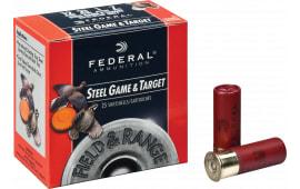 "Federal FRS2836 Standard Field & Range Steel 28GA 2.75"" 5/8oz #6 Shot - 250sh Case"