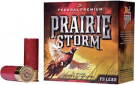 """Federal PF154FS4 Prairie Storm Small Game 12GA 2.75"""" 1-1/4oz #4 Shot - 250sh Case"""
