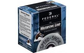 "Federal WF1334 Speed-Shok Waterfowl 12GA 3.5"" 1-3/8oz #4 Shot - 250sh Case"