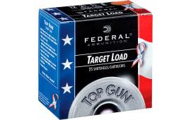 "Federal TGL12US8 Top Gun Target 12GA 2.75"" 1-1/8oz #8 Shot - 250sh Case"