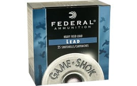 "Federal H16075 Game Shok Game Loads 16GA 2.75"" 1oz #7.5 Shot - 250sh Case"