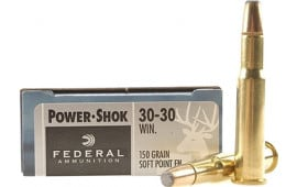 Federal P3030TC1 Vital-Shok 30-30 Winchester 150 GR Trophy Copper - 20rd Box