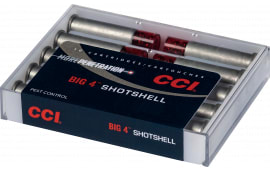 CCI 3712CC Pistol 9mm Luger 45 GR Shotshell #4 Shot - 10rd Box