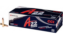 CCI 963CC A22 22 WMR 35 GR Jacketed Soft Point - 200 Round Box