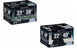 Federal 729 Target Range Pack 22 Long Rifle (LR) 40  GR Lead Round Nose Bulk Pack - 275rd Box