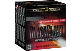 """Federal PWBXH143BB Black Cloud 12GA 3"""" 1-1/8oz BB Shot - 250sh Case"""