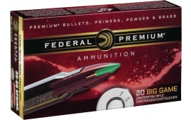Federal P65CRDTC1 Vital-Shok 6.5 Creedmoor 120 GR Trophy Copper - 20rd Box