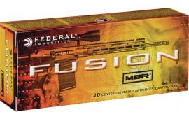 Federal F300BMSR2 Fusion MSR 300 AAC Blackout/Whisper (7.62X35mm) 150 GR Soft Point - 20rd Box