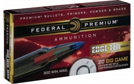 Federal P300WETLR200 Edge TLR 300 Winchester Magnum 200 GR Terminal Long Range (TLR) - 20rd Box