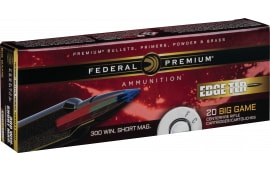 Federal P300WSMETLR200 Edge TLR 300 Winchester Short Magnum (WSM) 190 GR Terminal Long Range (TLR) - 20rd Box