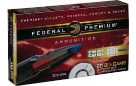 Federal P308ETLR180 Edge TLR 308 Winchester/7.62 NATO 180 GR Terminal Long Range (TLR) - 20rd Box