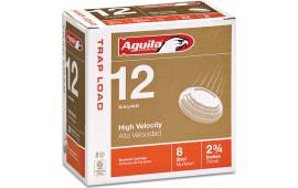 "Aguila 1CHB1252 Competition Trap 12GA 2.75"" 7/8oz #8 Shot - 250sh Case"